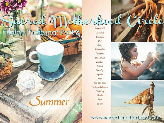 Sacred Motherhood Circles SUMMER