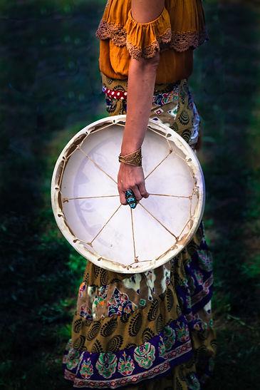 Sacred Drum Sared Wild Witch