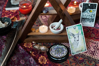 Tarot Altar Sacred Wild Witch