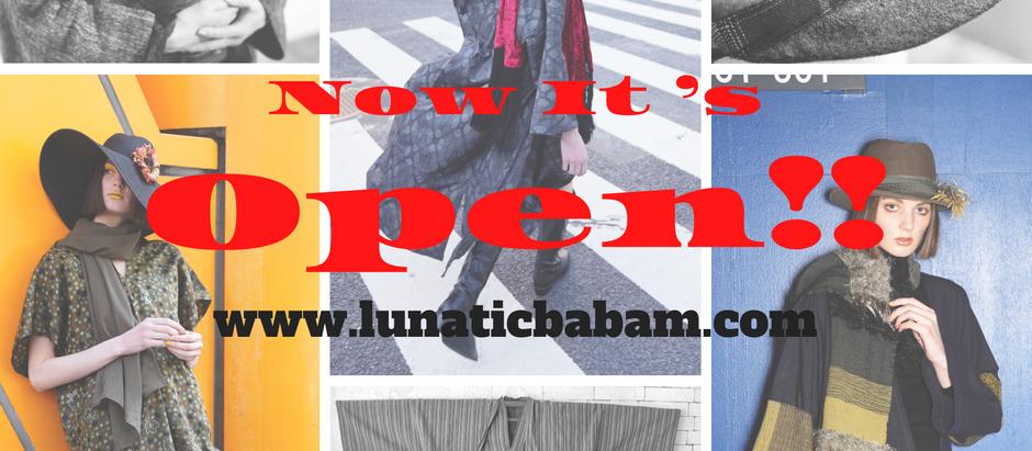 公式オンラインショップがオープン!