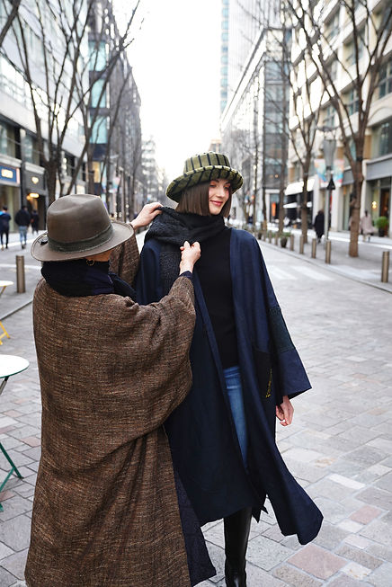 Lunatic Baba Mの女性デザイナーについて、ファッションブランドを立ち上げるまでの経緯や想いとは?、ビンテージ反物へのこだわり、