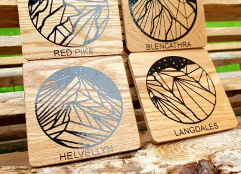 Illustrated Coasters