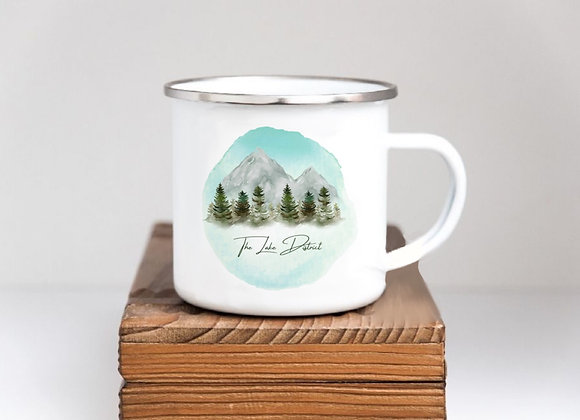 Illustrated Lake District Mug and Water Bottle