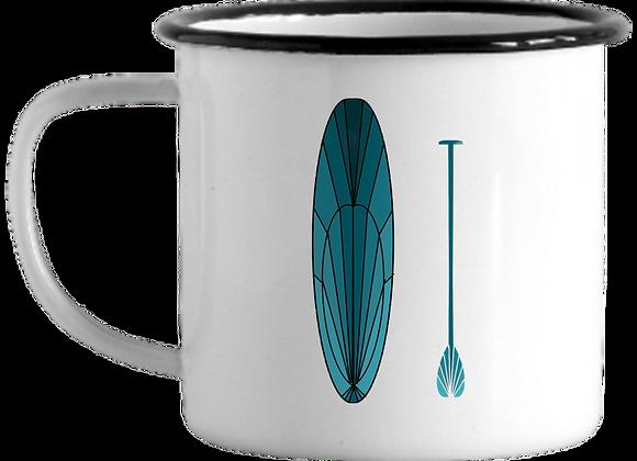 GYOW Paddleboard Enamel Mug