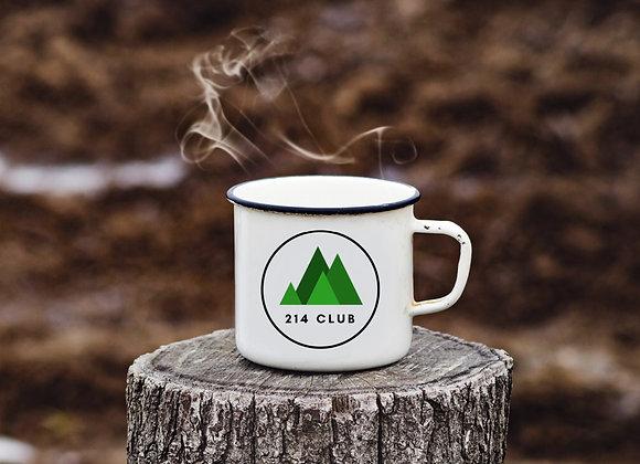214 Club Enamel Mug