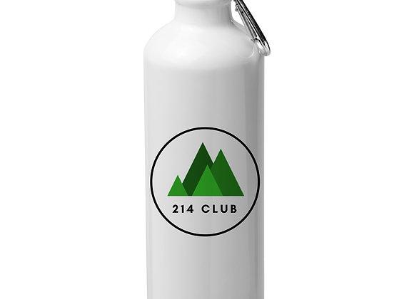 214 Club Aluminium Water Bottle