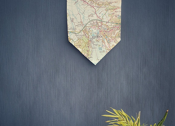 Location Map Wall Hanging