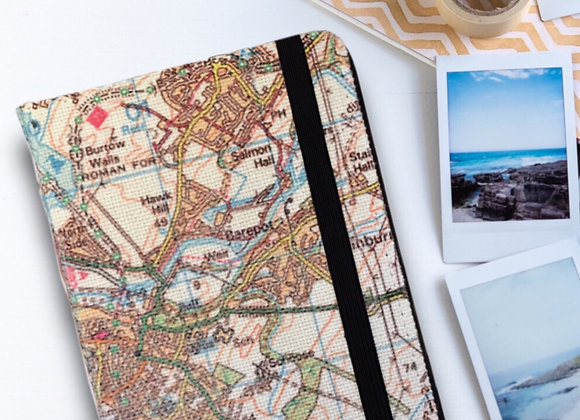 Personalised Map Note Book