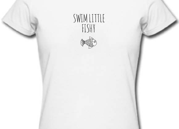 Unisex Swim Little Fishy Tshirt