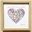 Thumbnail: Map Heart Location Art Print