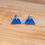 Thumbnail: Enamel Mountain Earrings