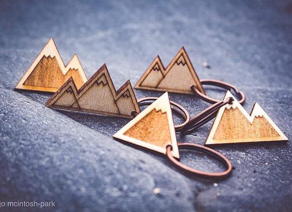 Mini Mountain Keyrings