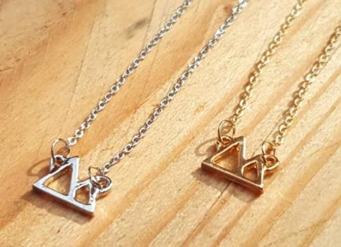 Mini Mountain Necklaces