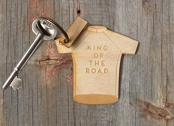 King Of... Road Cycling Keyring