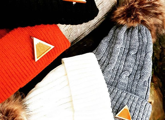 Knitted Mountain Beanies