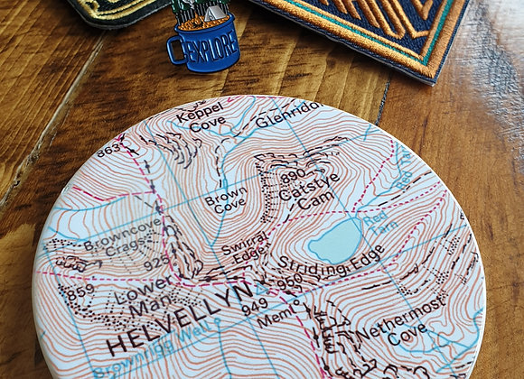 Ceramic Personalised Map Coaster