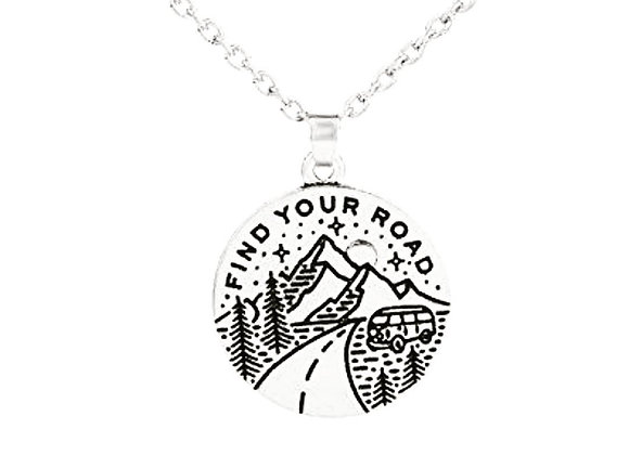 """""""Find Your Road"""" Necklace"""