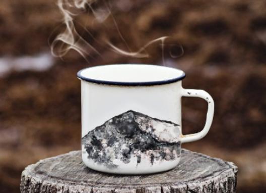 Grisedale Pike in Inks Mug