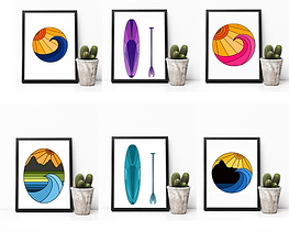 Waves and Landscape Prints.PNG