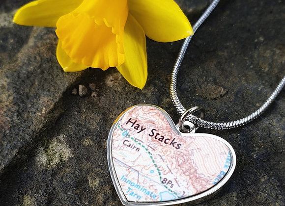 Personalised Map Jewellery. Earrings, Bracelet and Necklace