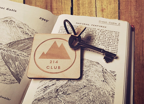 214 Club Wainwright Keyring