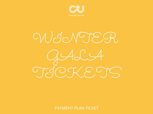 Winter Gala - Ticket(s) - Payment Plan
