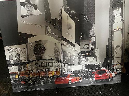 Interesting Modern New York Canvas