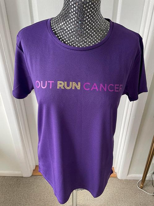(Womens) OutRunCancer T-Shirt