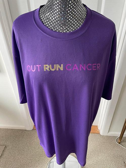 (Mens) OutRunCancer T-Shirt