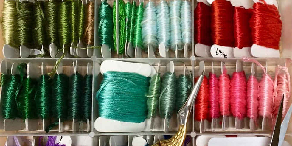 Session 1; Mondays; In-Person HOMESCHOOL FIBER ARTS; Ages 10-17