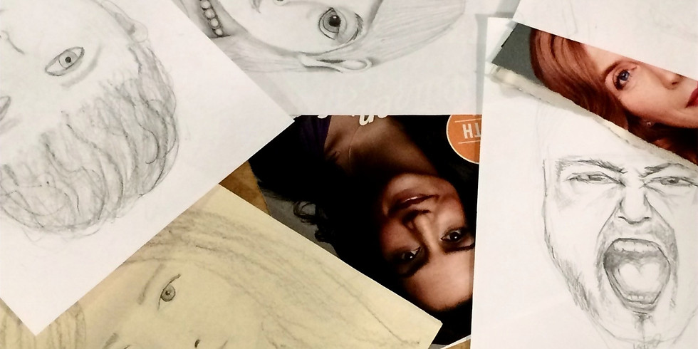 Summer; 2021: Drawing People; in-person with Yvette