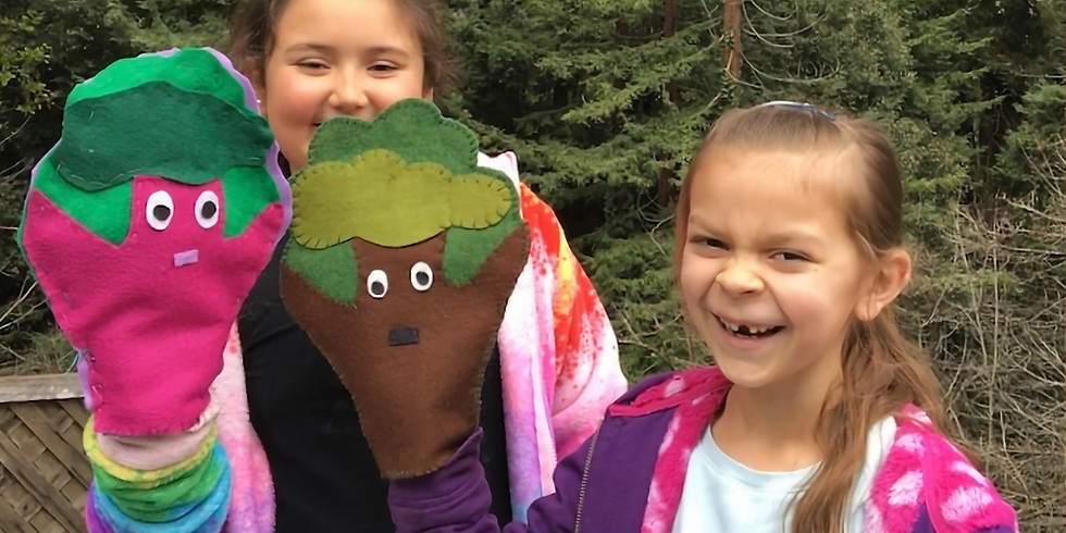 SPRING BREAK: Tuesday, March 31; Ages 5-7; Sewing Puppets