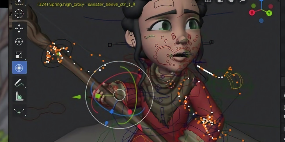 Summer; 2021: 3D Animation using Blender with Jason; virtual (second session)