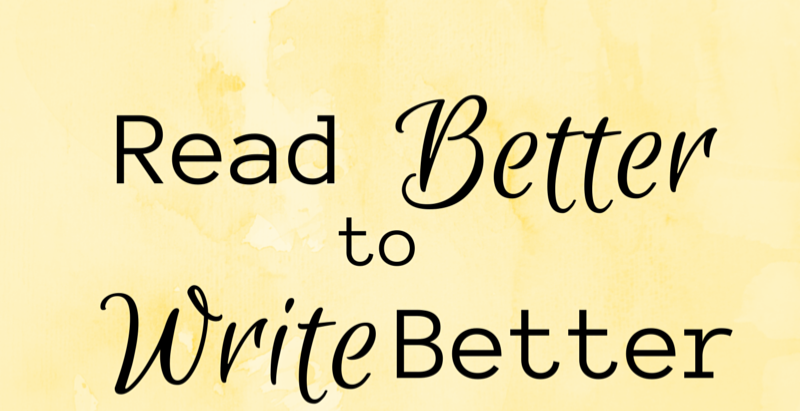 Read Better to Write Better