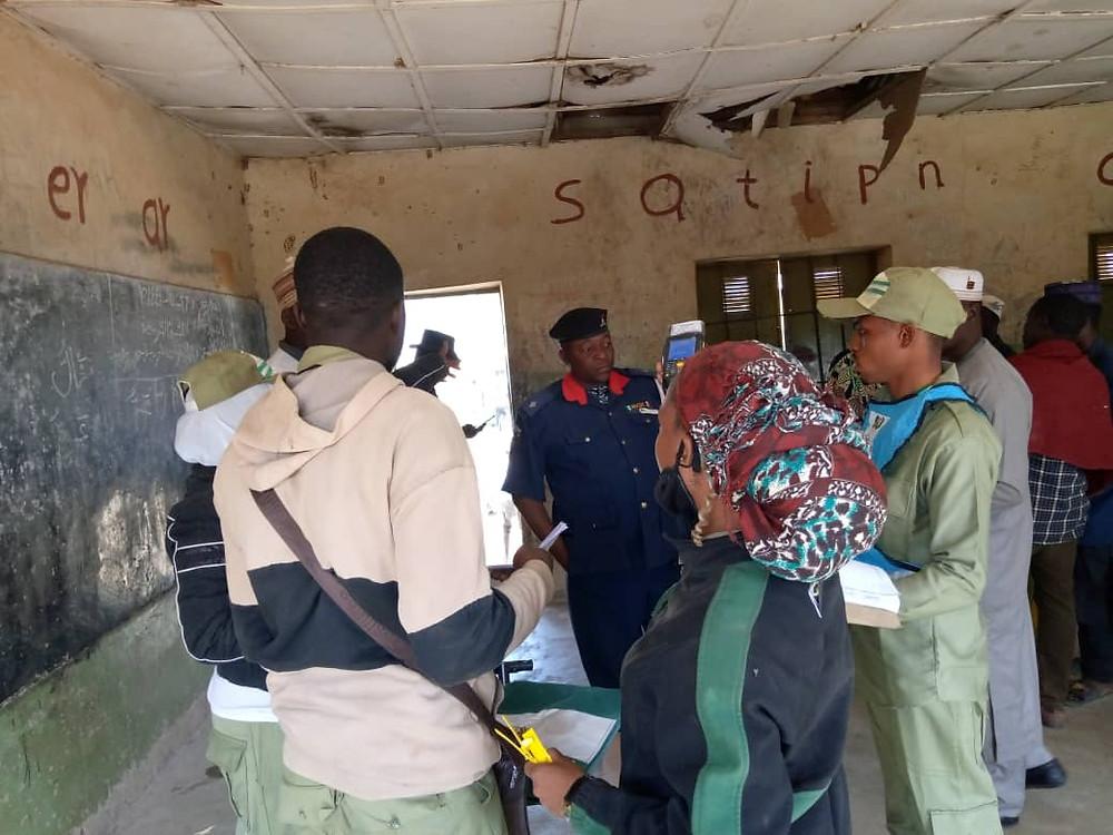 YIAGA Africa elections monitoring team, Nigeria