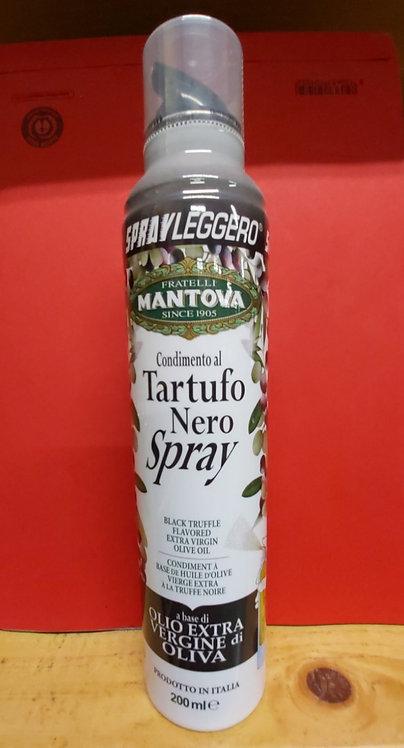 Spray à base d'huile d'olive à la truffe noire
