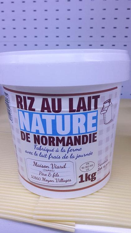 Riz au Lait Nature de Normandie