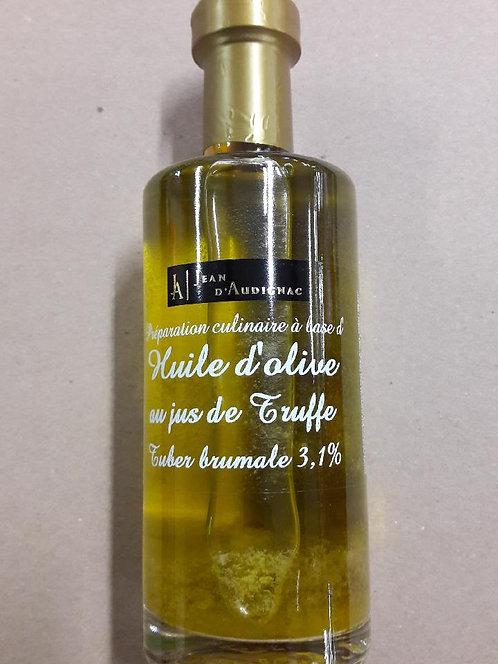 Huile d'olive au jus de truffe