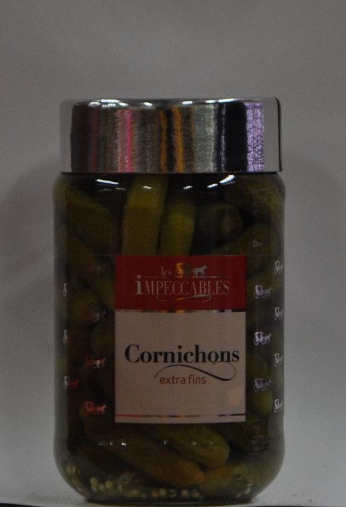 Cornichons.Grand bocal