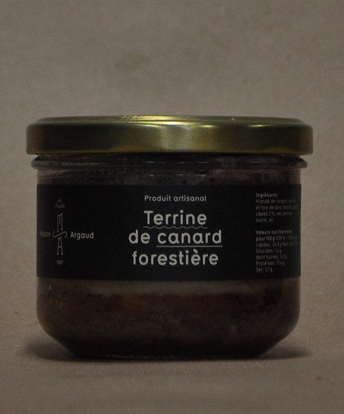 Terrine.Canard.Forestière