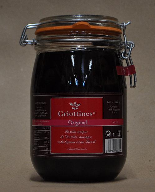Griottines.Grand bocal