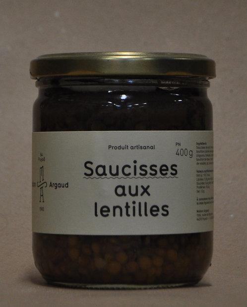 Saucisses.Lentilles.Petit