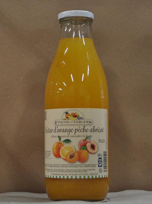 Nectar.Orange.Pêche.Abricot