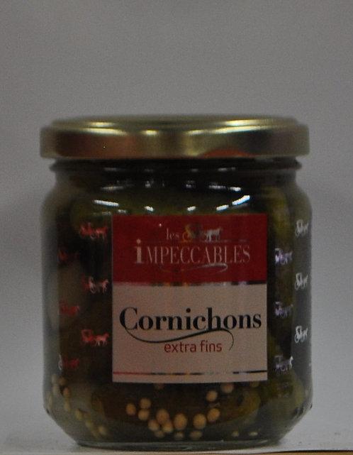 Cornichons.Petit bocal