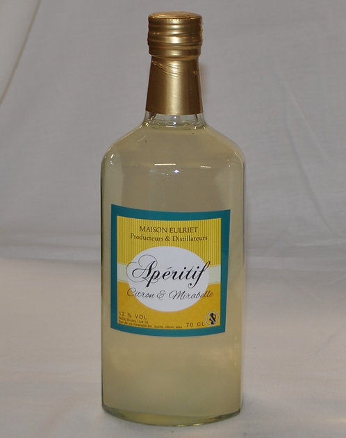 Apéritif Citron Mirabelle