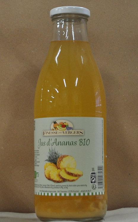 Jus d'ananas Bio