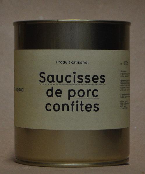 Saucisses.Porc.Confites.Grand