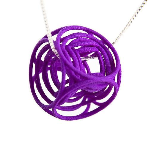 3d Cube Necklace