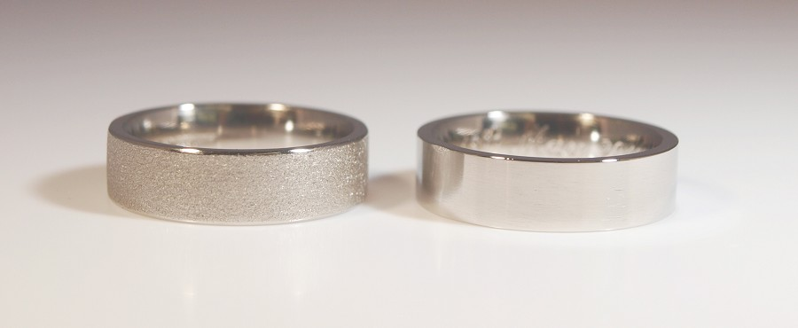Palladium Wedding Rings
