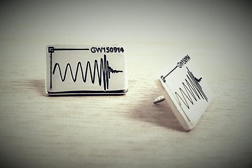 Gravitational Wave Pin Badge